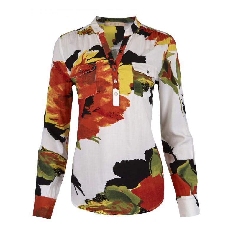 RUE de FEMME Doodle Shirt Flower Mix