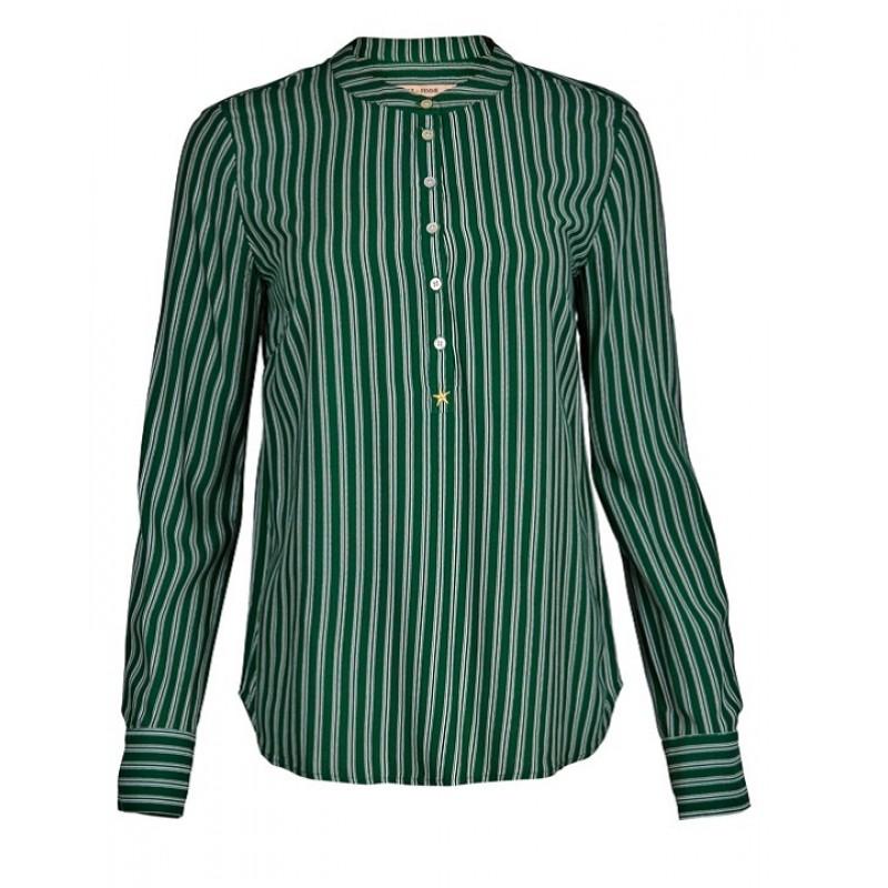Rue De Femme Dot Shirt Green