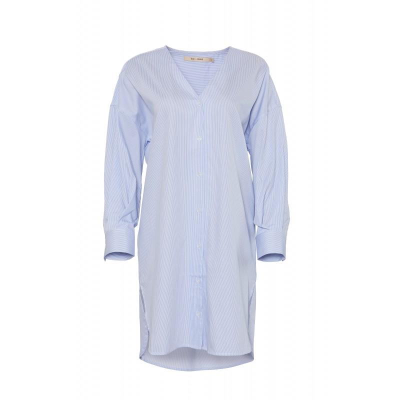 Rue De Femme Hella Shirt Dress Della Blue