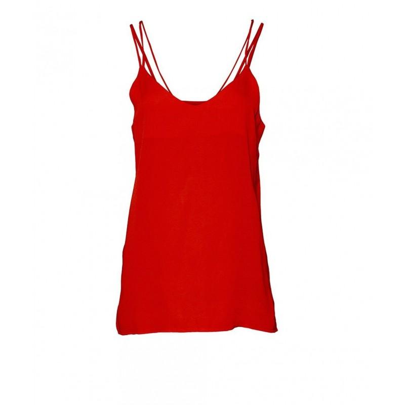 Rue De Femme Strapie Top Red
