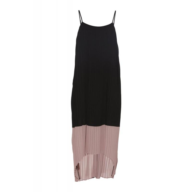 Rue De Femme Trista Strap Dress Black