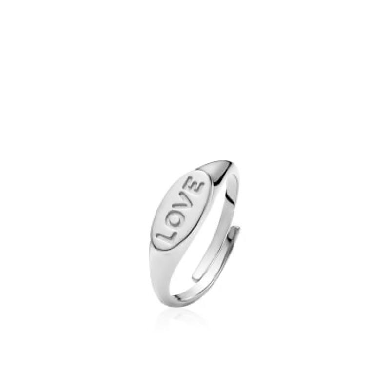 "Sistie Fam ""LOVE"" Ring Silver"