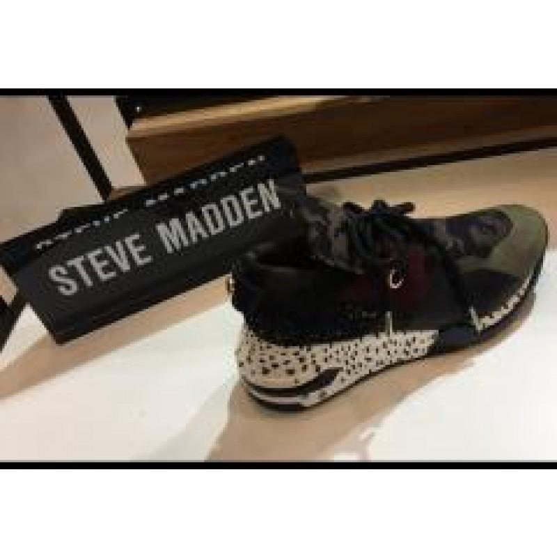 Steve Madden Cliff Sneaker Olive Multi
