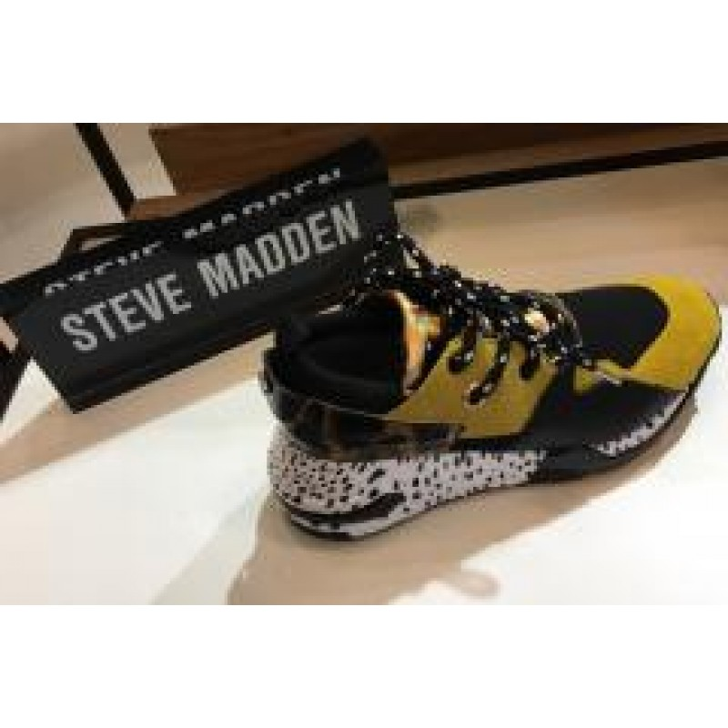 Steve Madden Cliff Sneaker Yellow Multi