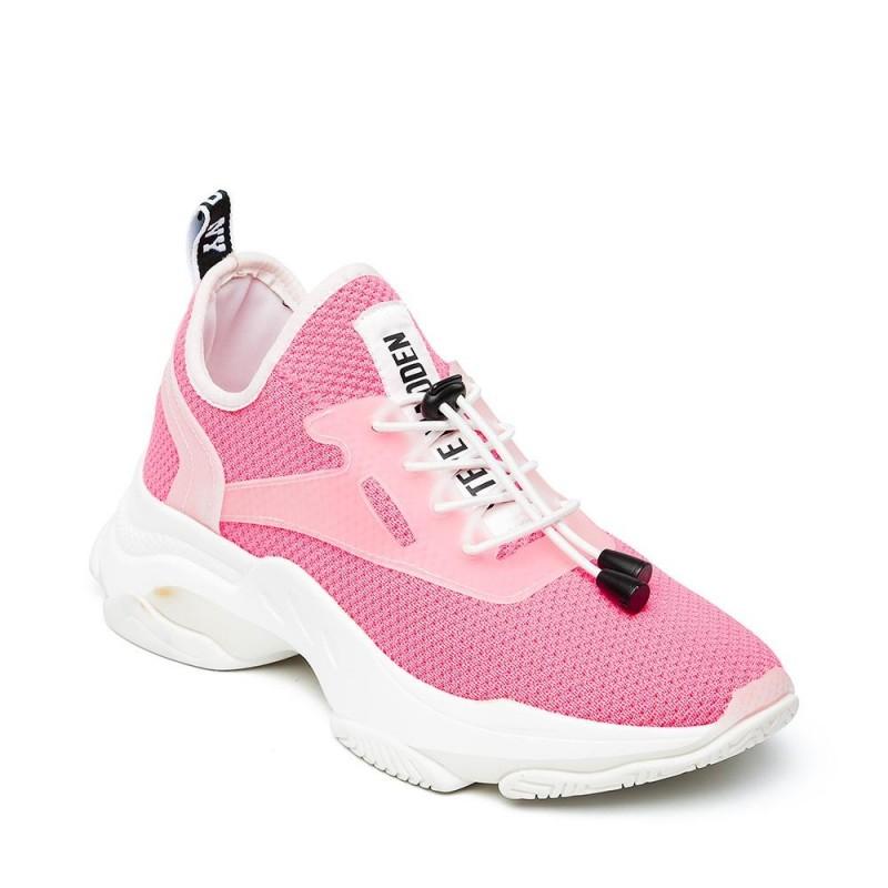 Steve Madden Match Sneaker Pink Neon
