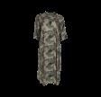 Black Colour Kenna Dress Camouflage