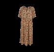 Black Colour Luna Jo S/S Boho Dress Desert Haze