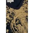 Cream Caty T-Shirt Royal Navy Blue