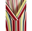 Denim Hunter DHSørine V Neck Blouse Multi Colour Stripes