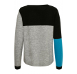 Denim Hunter Finley Knit Pullover Light Grey Melange