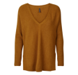 Freequent Clauty Pullover Spiced Yellow Melange