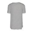 Freequent Merle O Short Sleeves Stripe Off White W. Navy