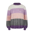 Freequent Moto Pullover Block Regal Orchid Mix