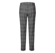 Freequent Nanni Ankle Pants Zip Check Offwhite w. Black