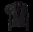 Freequent Nanni Jacket Tie Black/Grey