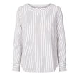 Freequent Naya Blouse Offwhite With Black