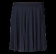 Freequent Plisse Short Skirt Plain Navy Blazer