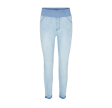 Freequent Shantal Ankle Pants Raw Light Blue Denim