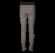 Freequent Shantal Pants Check Black Mix