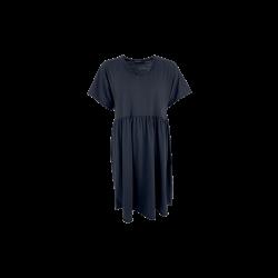 Black Colour Mini T-shirt Dress Black