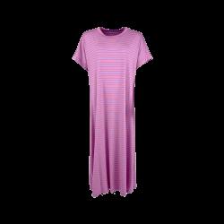 Black Colour Polly Jersey Dress Lavender