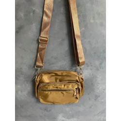 Black Colour Viggy Nylon Bag Small Khaki