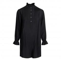 Có Couture Callum Pintuck Frill Dress Black
