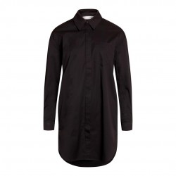 Có Couture Hannah Midi Shirt Black