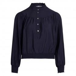 Co'couture Callum Smock Shirt Navy