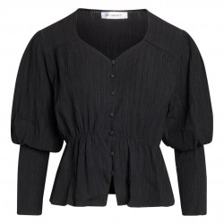 Co'couture Kerry Structure Shirt Black