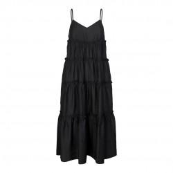 Có Couture Cayla Gipsy Strap Dress Black