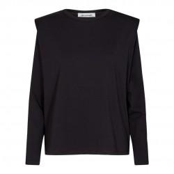 Có Couture Eduarda Long Sleeves Tee Black
