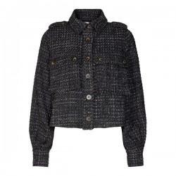 Có Couture Ibiza Boucle Jacket Black