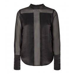 Có Couture Mixit Tefetta Shirt Black