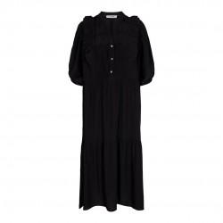 Có Couture Samia Sun Frill Dress Black