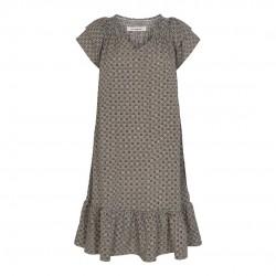 Có Couture Sunrise Crop Tiles Dress Mocca