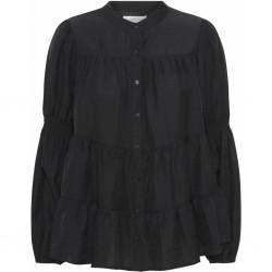 Continue Cph Sanna Shirt Solid Black