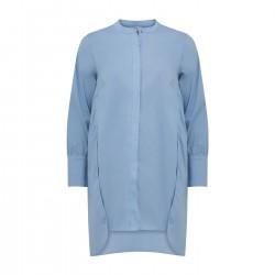 Coster Copenhagen CC Heart Long Shirt Sky Blue