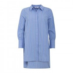 Coster Copenhagen CC Heart Long Shirt w. Stripes Blue