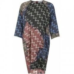 Coster Copenhagen Dress In Zig Zag Print