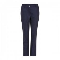 Coster Copenhagen Pants W. Elastic Back Dark Denim Blue