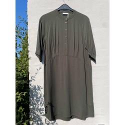 Coster Copenhagen Short Dress In Lyocell Hunter Green