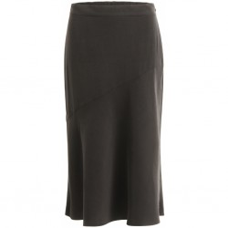 Coster Copenhagen Skirt W. Bias Cut Black