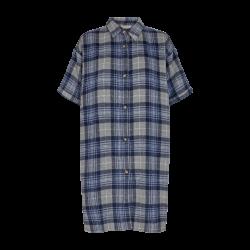 Freequent Abelle Shirt Dress Navy Blazer Mix
