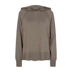 Freequent Ani Pullover Hood Morel