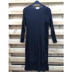Freequent Edelyn Long Dress Flower Black