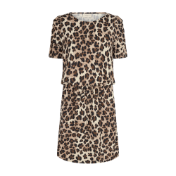 Freequent Moii Dress Beige Sand Mix