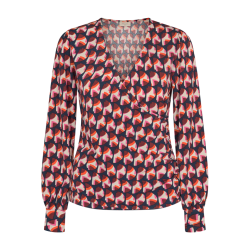 Freequent Must Blouse Flame Mix