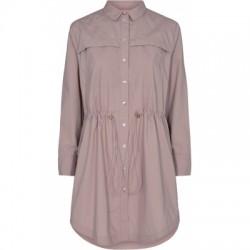 Gossia Saga Shirt Dress Caramel Rose