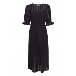 Ichi Ivette Dress Black